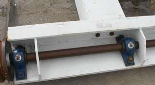Large Heavy Duty Rolling Machine Frame 99 by 98 1800#