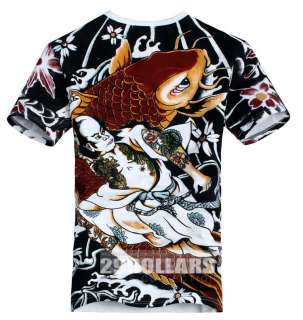 Vintage Tattoo Art Design, Mens T shirt Graphic Tee, High Stretch