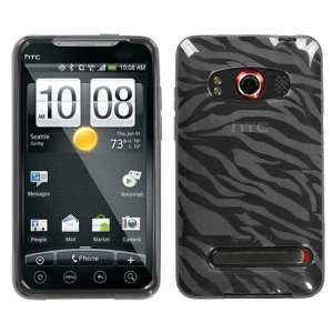 HTC EVO 4G , Smoke Zebra Skin Candy Skin Cover