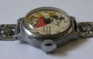 Vintage 1935 Ingersoll Mickey Mouse Watch