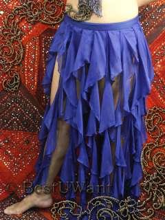 Ballroom Belly Dance Tango Costume Dress Skirt LARGE XL |