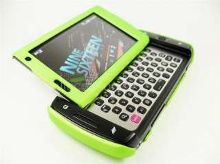 SAMSUNG SIDEKICK 4G T MOBILE NEON GREEN HARD COVER CASE