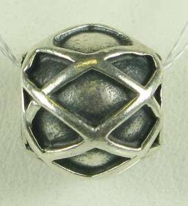 Authentic Pandora Sterling Silver Ale/925 Web Charm 4.6g Genuine