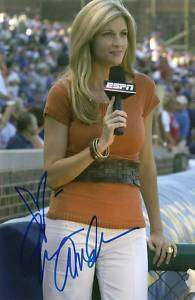 Erin Andrews signed autograph ESPN Sports Hot !