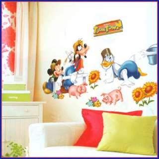 wall decor stickers mural decals art graphic mickey mouse kids room