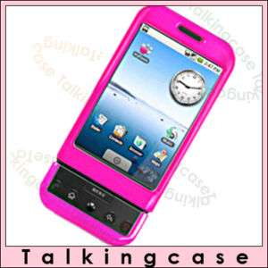 NEW HOT PINK COVER CASE SKIN FOR HTC GOOGLE G1 T MOBILE