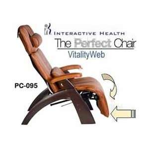 PC 095 Power Electric Recline Perfect Chair Recliner Dark Walnut Wood