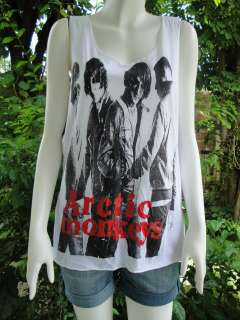 Arctic Monkeys Indie Alternative Rock T Shirt Women M