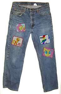 My Little Pony Friendship is Magic clothing patch Brony Rainbow Dash