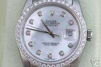 ROLEX DATEJUST MENS WATCH WHITE GOLD PRESIDENT BAND 09