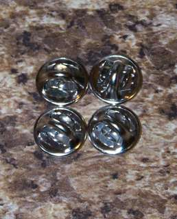 Pinback pin post clutch backs butterfly clasp LOT OF 4 E5101