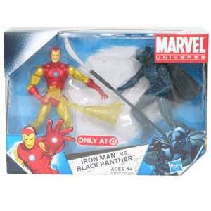 Marvel Universe 3 3/4 Inch Exclusive Action Figure 2Pack Iron Man Vs