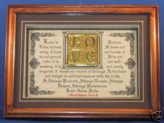 Bible,Verse,Scripture,Framed,Plaque,Poem,Christian Gift