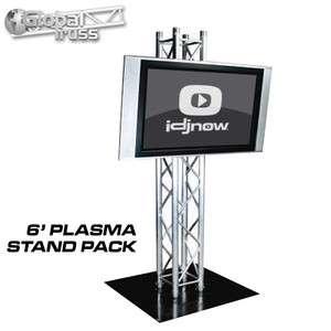 GLOBAL TRUSS PLASMA STAND 6 BOX TRUSS PLASMA TV STAND