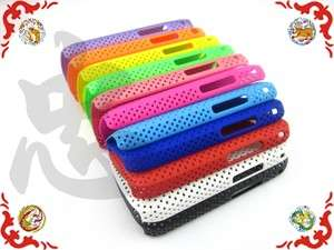 Plastic Hole Skin Protector Case Cover Guard for Samsung Galaxy Gio