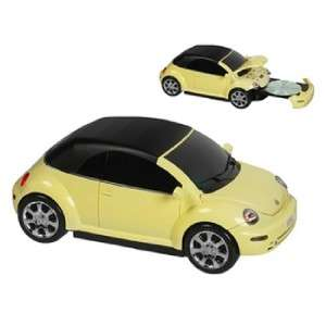 NEW VW Volkswagon Yellow Beetle Bug Car Music FM/CD Player BRAND NEW