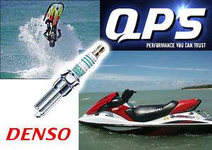 Kawasaki STX 15F Jet Ski Denso Iridium Spark Plugs