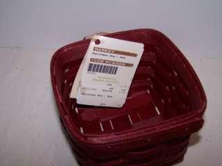 RETIRED Holiday Gift Basket MEGA Set Bold RED   NEW