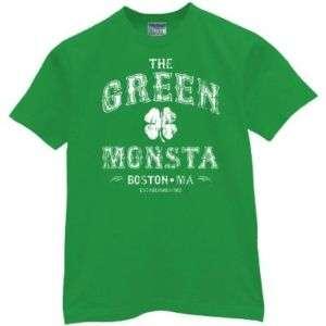 THE GREEN MONSTER t shirt boston monsta red sox XL