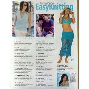 {Knitting} Family Circle Easy Easy Knitting {Spring/Summer