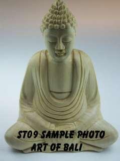 Zen Garden 4 5 Crocodile Wood Buddha Statue ST09