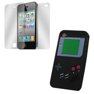 Colorful Game Design Silicone Soft Case Skin for Apple iPhone 4 4G 4S