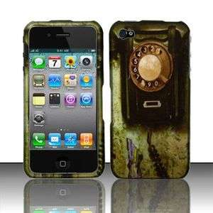 OLD ROTARY TELEPHONE iPHONE4 iPHONE 4 HARD CASE COVER