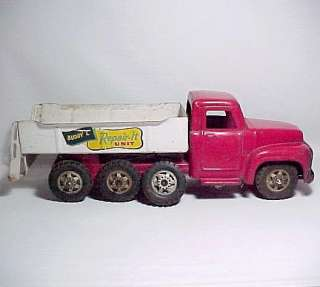 Vintage Buddy L Repair it Unit Tow Truck Wrecker Toy Pressed Steel