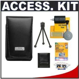 com Nikon Coolpix 5811 Leather Carrying Case + Accessory Kit for S70