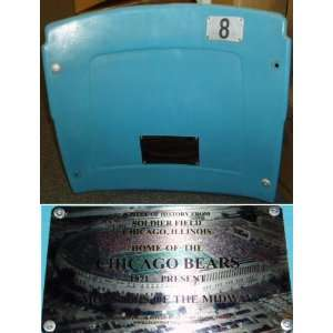 Soldier Field Light Blue Seat Back Chicago Bears  Sports