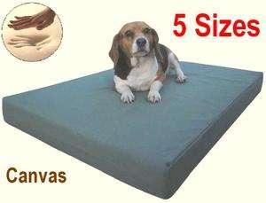 Small Medium Large XL Jumbo Memory Foam Pet Dog Bed Pad Waterproof