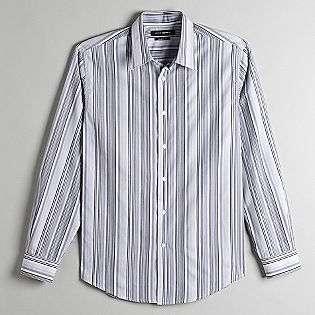 Mens Striped Dress Shirt  John Henry Clothing Mens Shirts