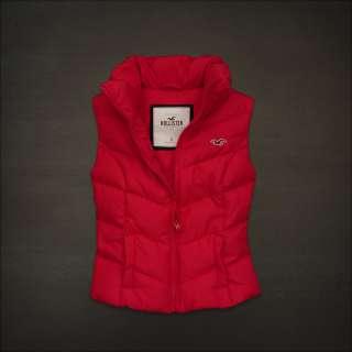 NWT HOLLISTER Abercrombie Womens BEACH STREET Jacket Vest S, L