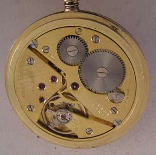 Arnex 70 Swiss Hi Grade 17 Jewels Hunter Pocket Watch PERFECT Just