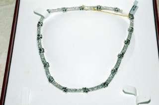 Tiffany & Co 8ct Diamond & 18k White Gold Necklace SUPERIOR QUALITY