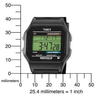 Timex Mens T75961 Classic Digital Black Strap Watch