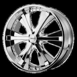 Wheel SET XD RIMS 22x9.5 Chrome DODGE 5LUG 6LUG VEHICLES CHEVY