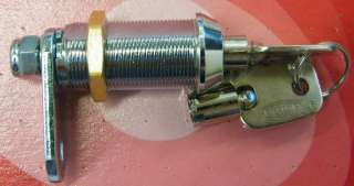 Radial Pin Cam Lock Tubular Key, High Security, 5 Sizes, Cam Options
