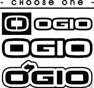 CHOOSE ONE DESIGN   OGIO Vinyl Decal Car Sticker
