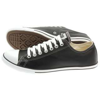 new Converse Trainers All Star CT SLIM OX black leather casual mens
