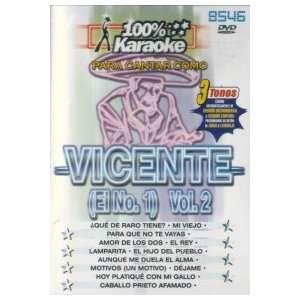 KARAOKE CANTA COMO: VICENTE FERNANDEZ VOL.2: Movies & TV
