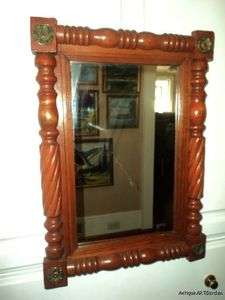 French Provincial FEDERAL Fruitwood ? Wall Mirror Picture Frame