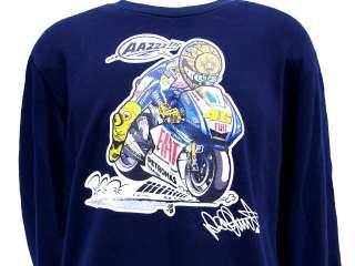 Valentino Rossi Authentic VR46 Yamaha Sweatshirt Sweater MotoGP XL