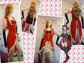 Yu Gi Oh YuGiOh 5Ds Akiza Izinski Cosplay Costume