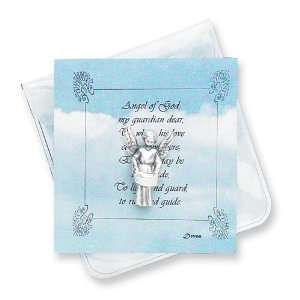Guardian Angel Devotional Pocket Medal Jewelry