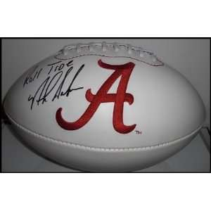 Nick Saban Autographed/Hand Signed University Of Alabama