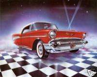 57 chevy Cross Stitch Pattern Cars Chevrolet