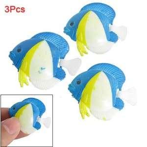 Como 3 Pcs Emulational Plastic Floating Fish for Aquarium