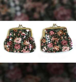 This is CLEARANCE sale of 2 beautiful brand new coin purses in