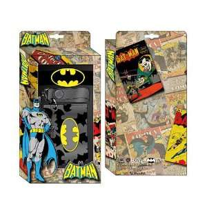 Batman Accessory Gift Set (Chain Wallet and Rubber